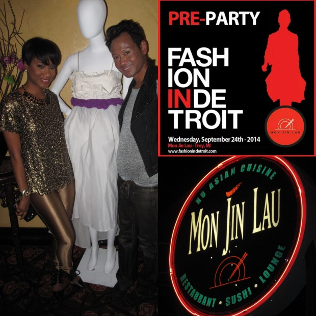 FashionINDetroit Pre Party Collage