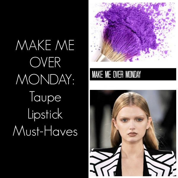 taupe listick collage