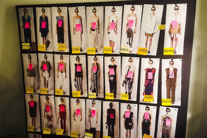 fashion week banner Collage